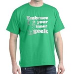Embrace Your Inner Geek Dark T-Shirt