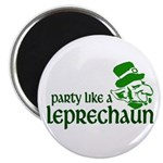 Party Like a Leprechaun Magnet