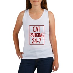 Cat Parking Women's Tank Top