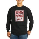 Bunny Parking Long Sleeve Dark T-Shirt