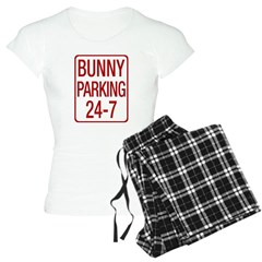 Bunny Parking Women's Light Pajamas