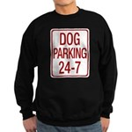 Dog Parking Sweatshirt (dark)