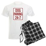 Dog Parking Men's Light Pajamas