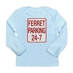Ferret Parking Long Sleeve Infant T-Shirt