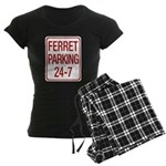 Ferret Parking Women's Dark Pajamas