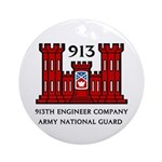 913th Engineer Company Ornament (Round)