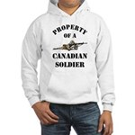 Property of Canadian Soldier Hooded Sweatshirt