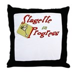 Stagette Throw Pillow