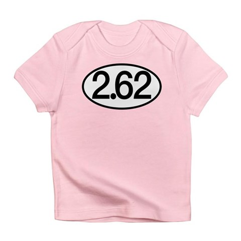 2.62 Marathon Humor Infant T-Shirt
