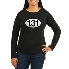 1.31 Women's Long Sleeve Dark T-Shirt