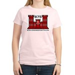 875th Engineer Battalion - Army Women's Pink T-Shi
