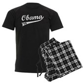 Obama 2012 Swish Men's Dark Pajamas