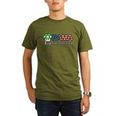 Obama 1up for America Organic Men's T-Shirt (dark)