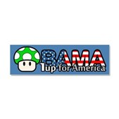Obama 1up for America Car Magnet 10 x 3