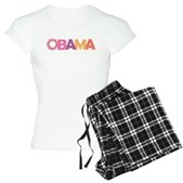 Obama Flowers Women's Light Pajamas