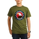 Obama-Biden Eagle Organic Men's T-Shirt (dark)