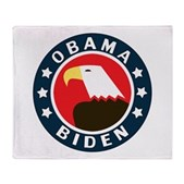Obama-Biden Eagle Stadium Blanket