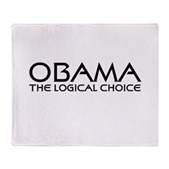 Logical Obama Stadium Blanket