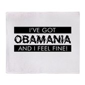 I've Got Obamania! Stadium Blanket