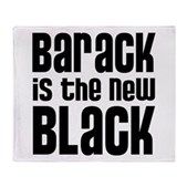 Barack the New Black Stadium Blanket