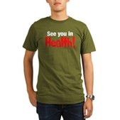 See You In Health! Organic Men's T-Shirt (dark)