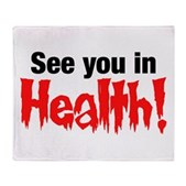 See You In Health! Stadium Blanket
