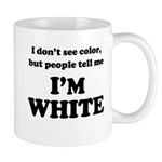 Black or white, what's the difference? A silly take on race relations inspired by Stephen Colbert. Colbert Report fans, wear your non-chalance proudly! I Don't See Color but people tell me I'm White.