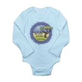 Linnaeus Quote Long Sleeve Infant Bodysuit