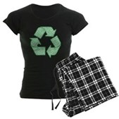 Path to Recycling Women's Dark Pajamas