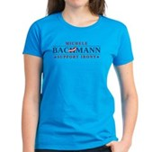 Anti-Bachmann Irony Women's Dark T-Shirt