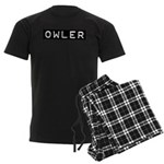 Owler Label Men's Dark Pajamas