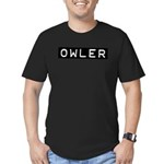 Owler Label Men's Fitted T-Shirt (dark)