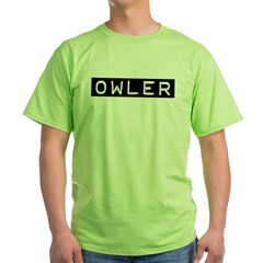 Owler Label Green T-Shirt