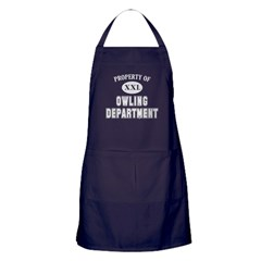 Property of Owling Dept Apron (dark)