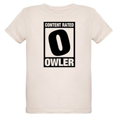Content Rated Owler Organic Kids T-Shirt