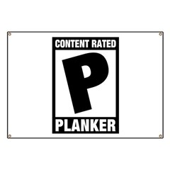 Content Rated Planker Banner