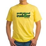 Professional Cuddler Yellow T-Shirt