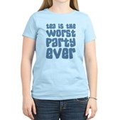 Worst Party Ever Women's Light T-Shirt