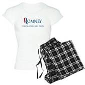 Anti-Romney Corporations Women's Light Pajamas