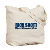 Rick Scott Worst Ever Tote Bag