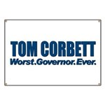 Worst. Governor. Ever. You need not say more with this bold anti-Tom Corbett design. A lot of people would like to recall or impeach the Pennsylvania Republican, and you're one of them.
