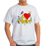 I Heart Schoolhouse Rock! Light T-Shirt