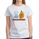 I Love Halloween Women's T-Shirt