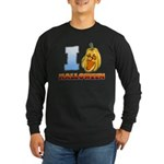 I Love Halloween Long Sleeve Dark T-Shirt