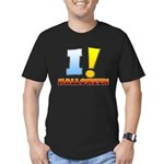 I ! Halloween Men's Fitted T-Shirt (dark)