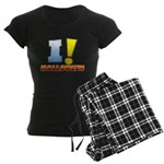 I ! Halloween Women's Dark Pajamas