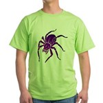Purple Spider Green T-Shirt