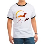 Flying Vampire Bats Ringer T