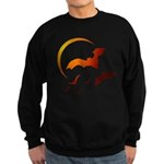 Flying Vampire Bats Dark Sweatshirt (dark)