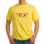 Bloody Treat Yellow T-Shirt